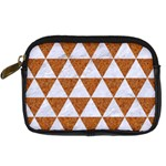 TRIANGLE3 WHITE MARBLE & RUSTED METAL Digital Camera Cases Front