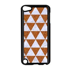 Triangle3 White Marble & Rusted Metal Apple Ipod Touch 5 Case (black)