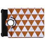 TRIANGLE3 WHITE MARBLE & RUSTED METAL Kindle Fire HD 7  Front
