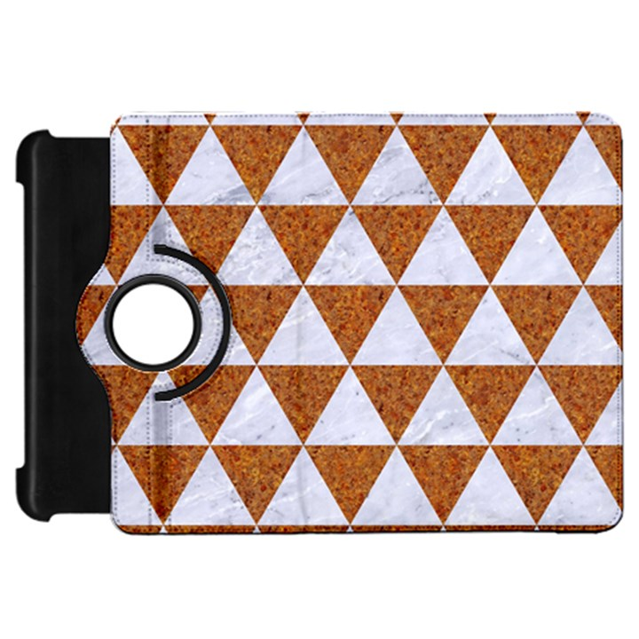TRIANGLE3 WHITE MARBLE & RUSTED METAL Kindle Fire HD 7