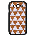 TRIANGLE3 WHITE MARBLE & RUSTED METAL Samsung Galaxy Grand DUOS I9082 Case (Black) Front