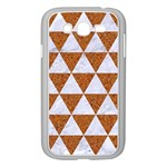 TRIANGLE3 WHITE MARBLE & RUSTED METAL Samsung Galaxy Grand DUOS I9082 Case (White) Front