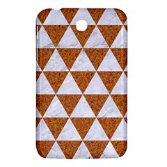 Triangle3 White Marble & Rusted Metal Samsung Galaxy Tab 3 (7 ) P3200 Hardshell Case