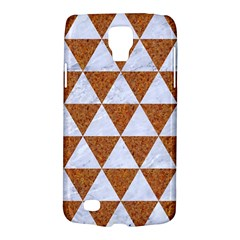 Triangle3 White Marble & Rusted Metal Galaxy S4 Active