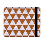 TRIANGLE3 WHITE MARBLE & RUSTED METAL Samsung Galaxy Tab Pro 8.4  Flip Case Front