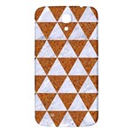 TRIANGLE3 WHITE MARBLE & RUSTED METAL Samsung Galaxy Mega I9200 Hardshell Back Case Front