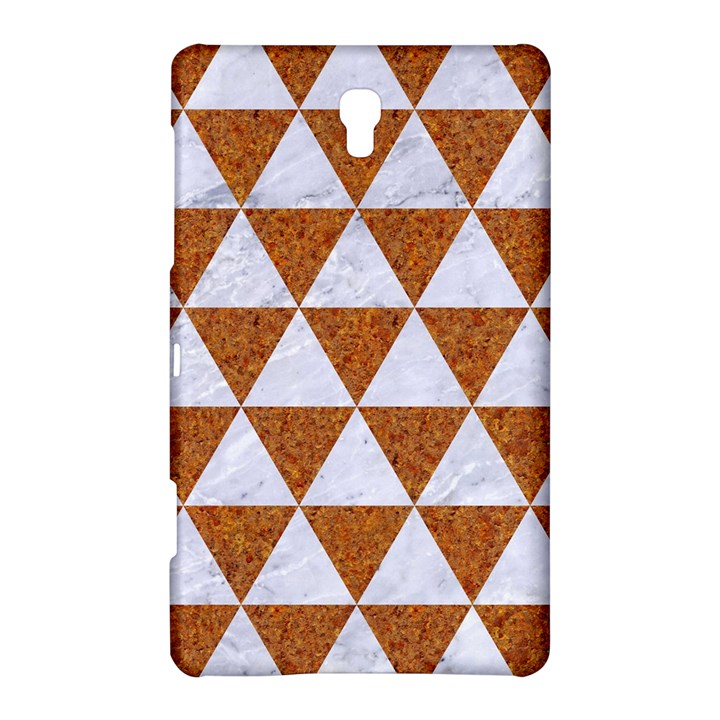 TRIANGLE3 WHITE MARBLE & RUSTED METAL Samsung Galaxy Tab S (8.4 ) Hardshell Case