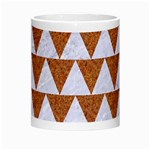 TRIANGLE2 WHITE MARBLE & RUSTED METAL Morph Mugs Center