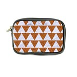 TRIANGLE2 WHITE MARBLE & RUSTED METAL Coin Purse Front