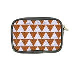 TRIANGLE2 WHITE MARBLE & RUSTED METAL Coin Purse Back