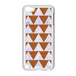 TRIANGLE2 WHITE MARBLE & RUSTED METAL Apple iPod Touch 5 Case (White) Front