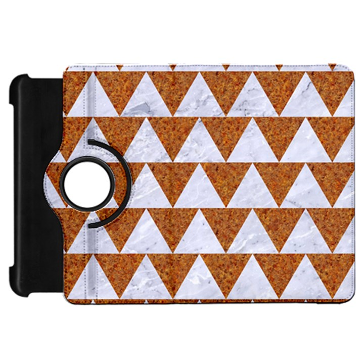 TRIANGLE2 WHITE MARBLE & RUSTED METAL Kindle Fire HD 7