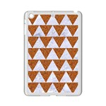 TRIANGLE2 WHITE MARBLE & RUSTED METAL iPad Mini 2 Enamel Coated Cases Front