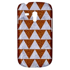Triangle2 White Marble & Rusted Metal Galaxy S3 Mini