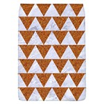 TRIANGLE2 WHITE MARBLE & RUSTED METAL Flap Covers (L)  Front