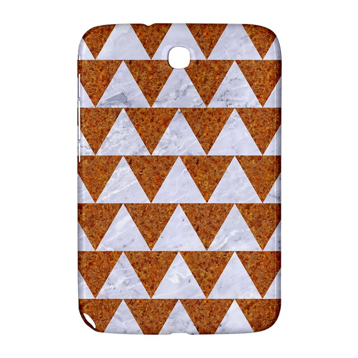 TRIANGLE2 WHITE MARBLE & RUSTED METAL Samsung Galaxy Note 8.0 N5100 Hardshell Case