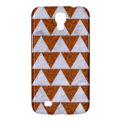 Triangle2 White Marble & Rusted Metal Samsung Galaxy Mega 6 3  I9200 Hardshell Case