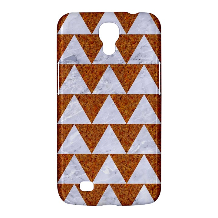 TRIANGLE2 WHITE MARBLE & RUSTED METAL Samsung Galaxy Mega 6.3  I9200 Hardshell Case