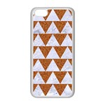 TRIANGLE2 WHITE MARBLE & RUSTED METAL Apple iPhone 5C Seamless Case (White) Front