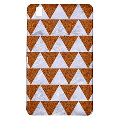 Triangle2 White Marble & Rusted Metal Samsung Galaxy Tab Pro 8 4 Hardshell Case