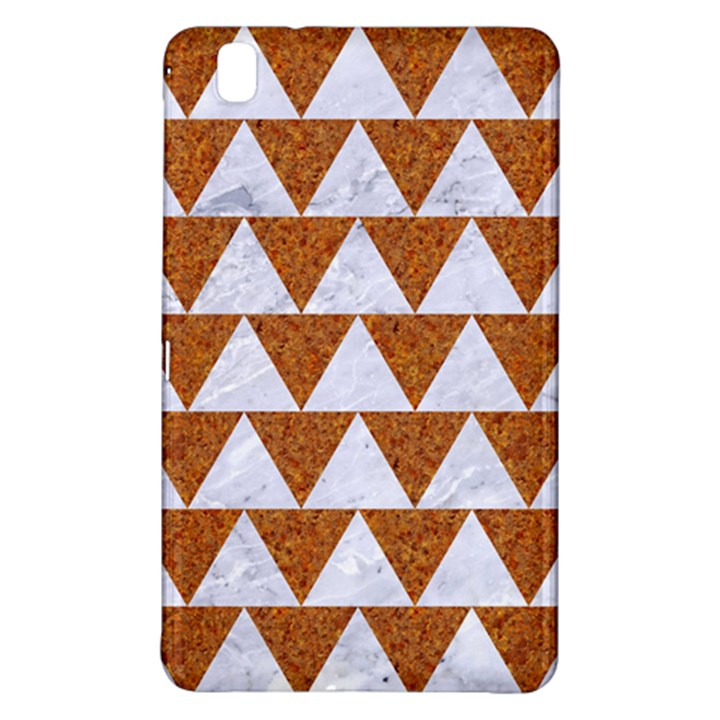 TRIANGLE2 WHITE MARBLE & RUSTED METAL Samsung Galaxy Tab Pro 8.4 Hardshell Case