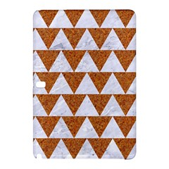 Triangle2 White Marble & Rusted Metal Samsung Galaxy Tab Pro 12 2 Hardshell Case