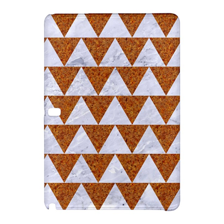 TRIANGLE2 WHITE MARBLE & RUSTED METAL Samsung Galaxy Tab Pro 12.2 Hardshell Case