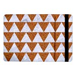 TRIANGLE2 WHITE MARBLE & RUSTED METAL Samsung Galaxy Tab Pro 10.1  Flip Case Front