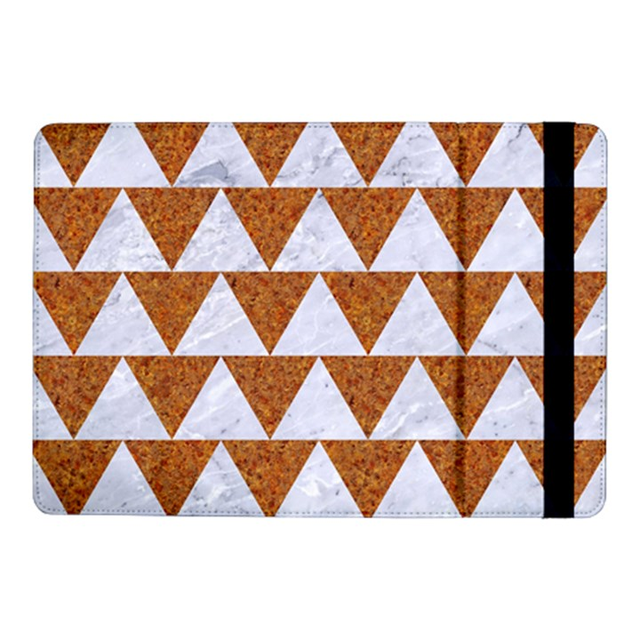 TRIANGLE2 WHITE MARBLE & RUSTED METAL Samsung Galaxy Tab Pro 10.1  Flip Case