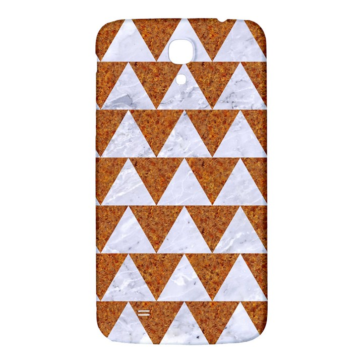 TRIANGLE2 WHITE MARBLE & RUSTED METAL Samsung Galaxy Mega I9200 Hardshell Back Case