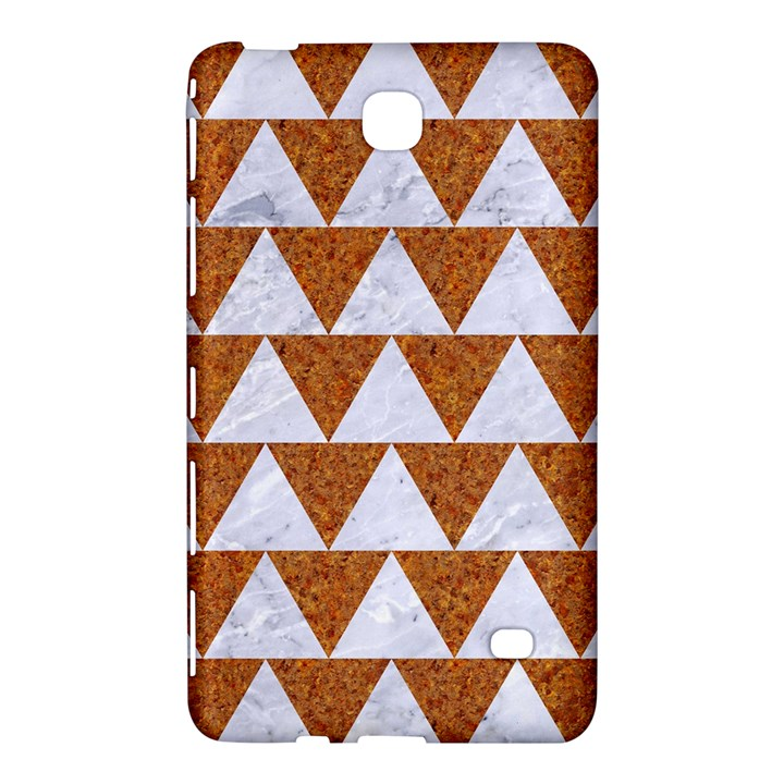 TRIANGLE2 WHITE MARBLE & RUSTED METAL Samsung Galaxy Tab 4 (8 ) Hardshell Case