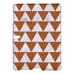 Triangle2 White Marble & Rusted Metal Samsung Galaxy Tab S (10 5 ) Hardshell Case
