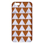 TRIANGLE2 WHITE MARBLE & RUSTED METAL iPhone 6 Plus/6S Plus TPU Case Front