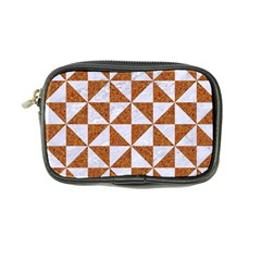 Triangle1 White Marble & Rusted Metal Coin Purse