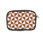 TRIANGLE1 WHITE MARBLE & RUSTED METAL Coin Purse Back