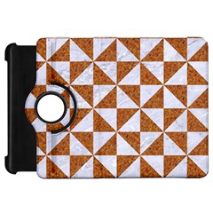 Triangle1 White Marble & Rusted Metal Kindle Fire Hd 7