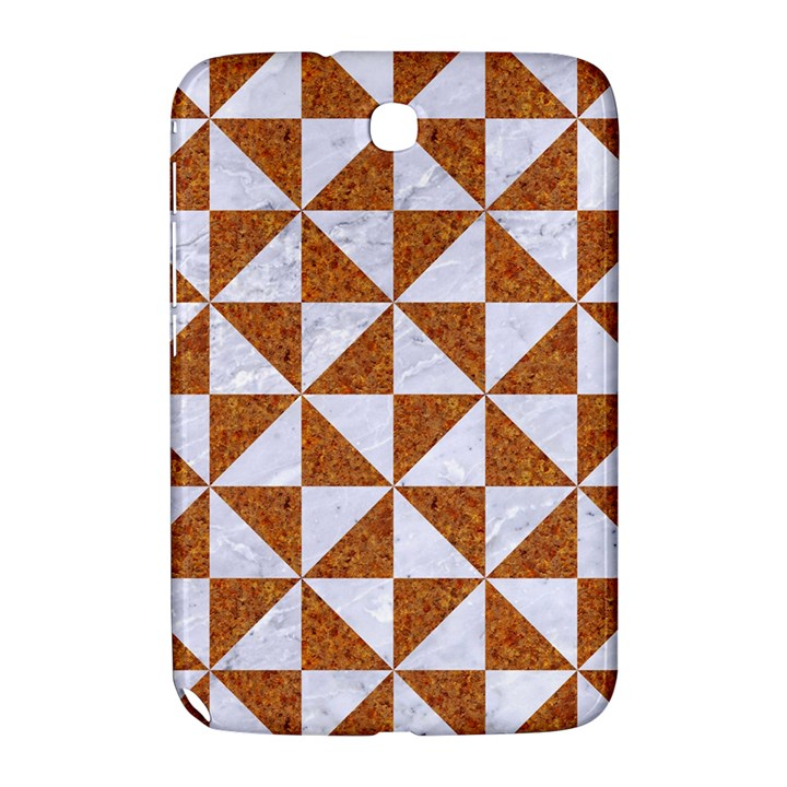 TRIANGLE1 WHITE MARBLE & RUSTED METAL Samsung Galaxy Note 8.0 N5100 Hardshell Case