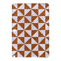 Triangle1 White Marble & Rusted Metal Samsung Galaxy Tab Pro 10 1 Hardshell Case
