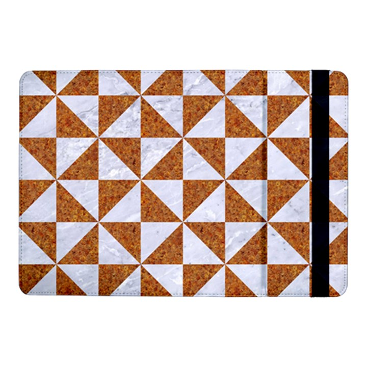 TRIANGLE1 WHITE MARBLE & RUSTED METAL Samsung Galaxy Tab Pro 10.1  Flip Case
