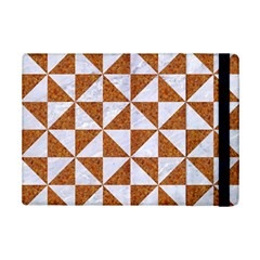 Triangle1 White Marble & Rusted Metal Ipad Mini 2 Flip Cases