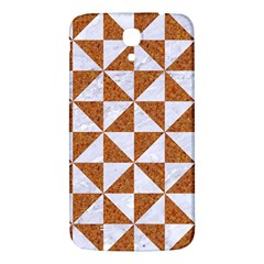 Triangle1 White Marble & Rusted Metal Samsung Galaxy Mega I9200 Hardshell Back Case