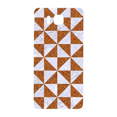 Triangle1 White Marble & Rusted Metal Samsung Galaxy Alpha Hardshell Back Case