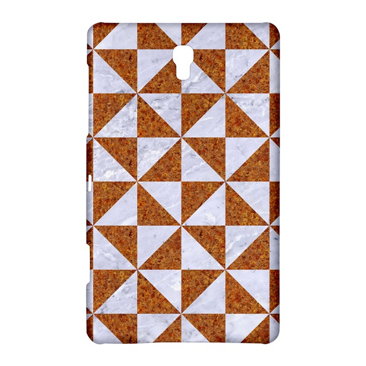 TRIANGLE1 WHITE MARBLE & RUSTED METAL Samsung Galaxy Tab S (8.4 ) Hardshell Case
