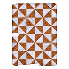 Triangle1 White Marble & Rusted Metal Samsung Galaxy Tab S (10 5 ) Hardshell Case