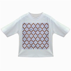 Tile1 White Marble & Rusted Metal (r) Infant/toddler T Shirts