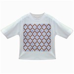 TILE1 WHITE MARBLE & RUSTED METAL (R) Infant/Toddler T-Shirts Front