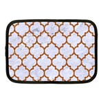 TILE1 WHITE MARBLE & RUSTED METAL (R) Netbook Case (Medium)  Front