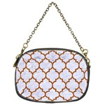 TILE1 WHITE MARBLE & RUSTED METAL (R) Chain Purses (One Side)  Front