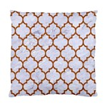 TILE1 WHITE MARBLE & RUSTED METAL (R) Standard Cushion Case (One Side) Front