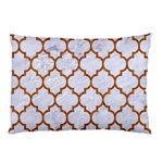TILE1 WHITE MARBLE & RUSTED METAL (R) Pillow Case 26.62 x18.9 Pillow Case